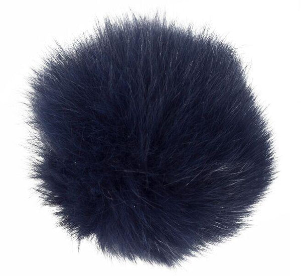 SHOE POM POM NAVY BLUE LARGE
