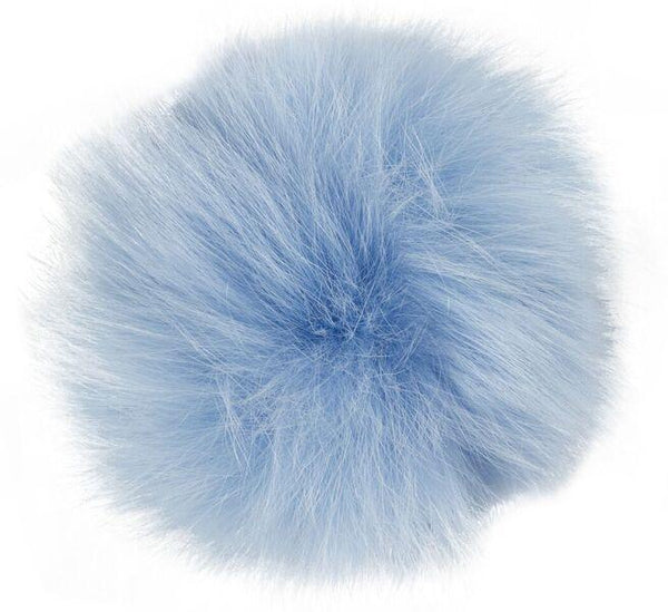 SHOE POM POM DENIM BLUE LARGE