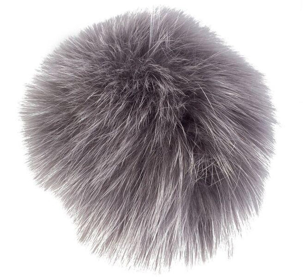 SHOE POM POM GREY LARGE