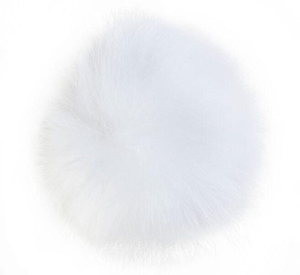 SHOE POM POM WHITE LARGE
