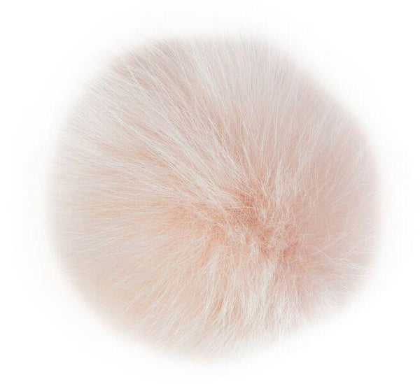 SHOE POM POM POWDER ROSE LARGE