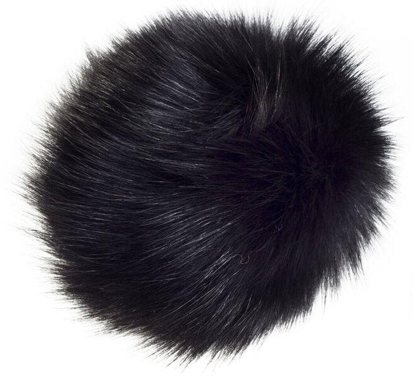 SHOE POM POM BLACK LARGE