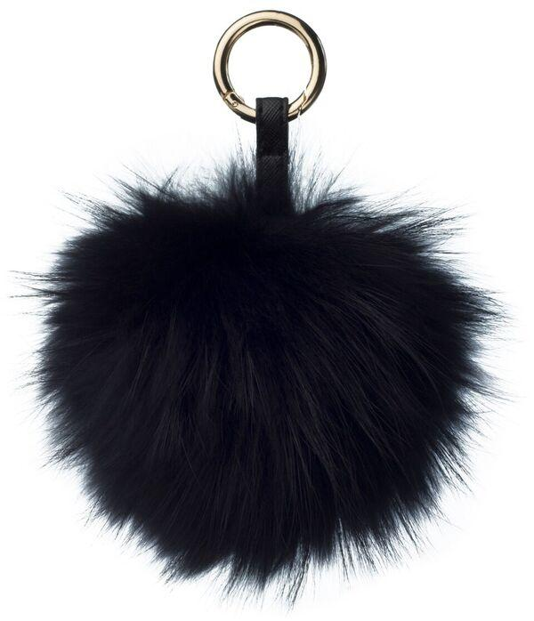 POM POM RACCOON BLACK