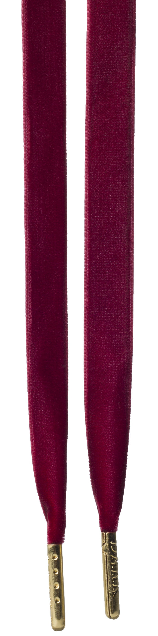 VELVET SHOE LACES WINE