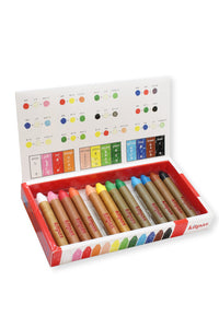 Kitpas Medium Crayons, 12 colors