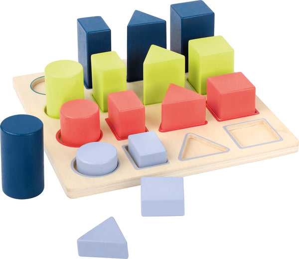 "Geometry Shape-fitting Puzzle ""Educate"""