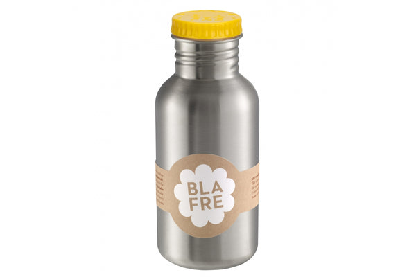 Blafre Steel Bottle 500ml, Yellow