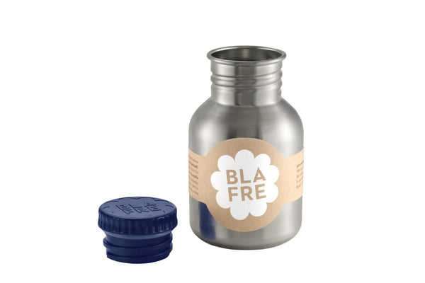 Blafre Steel Bottle, 300ml - Navy