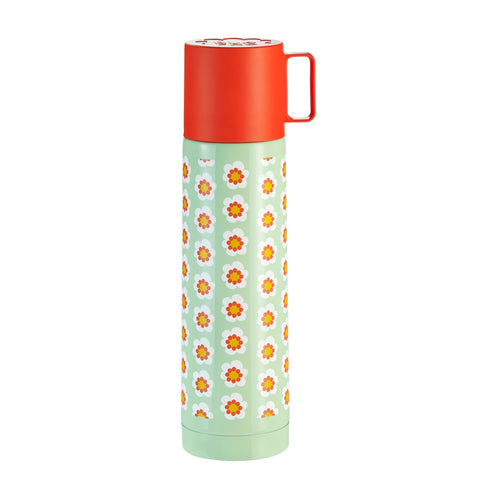 Floral Thermos