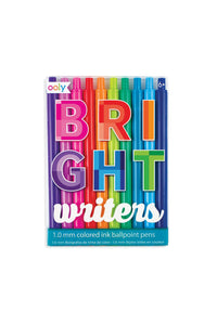 Bright Writers Ballpoint Pens - set of 10