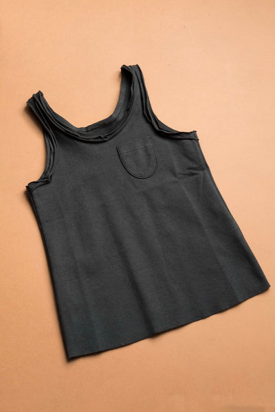 Tanktop Pirate Black