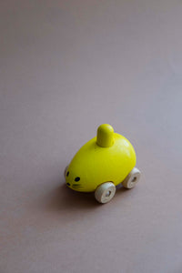 Squeaking Mouse, yellow