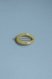 Circle Clip, 4 cm - Light Yellow