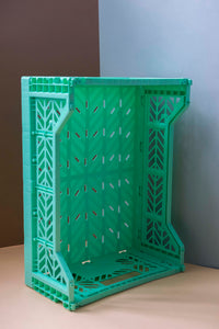Folding Crate, Medium - Mint