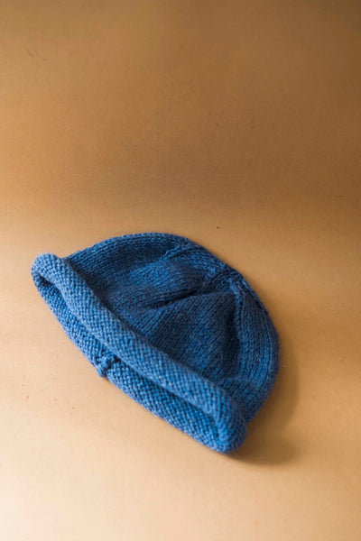 Blue Wool Hat