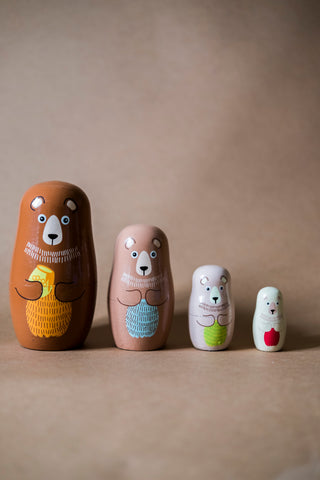 Bear Family Matryoshka