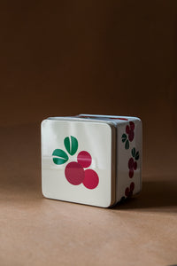Metallic Square Box Ligonberry