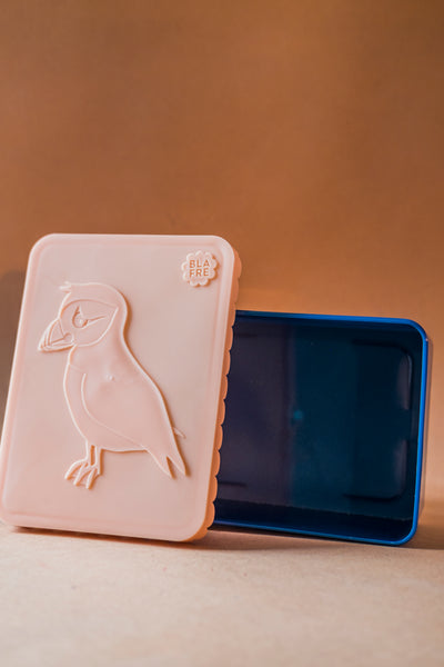 Puffin Lunch Box Pink/Navy