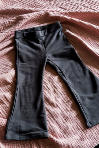 Flared Legging Monroe Pirate Black