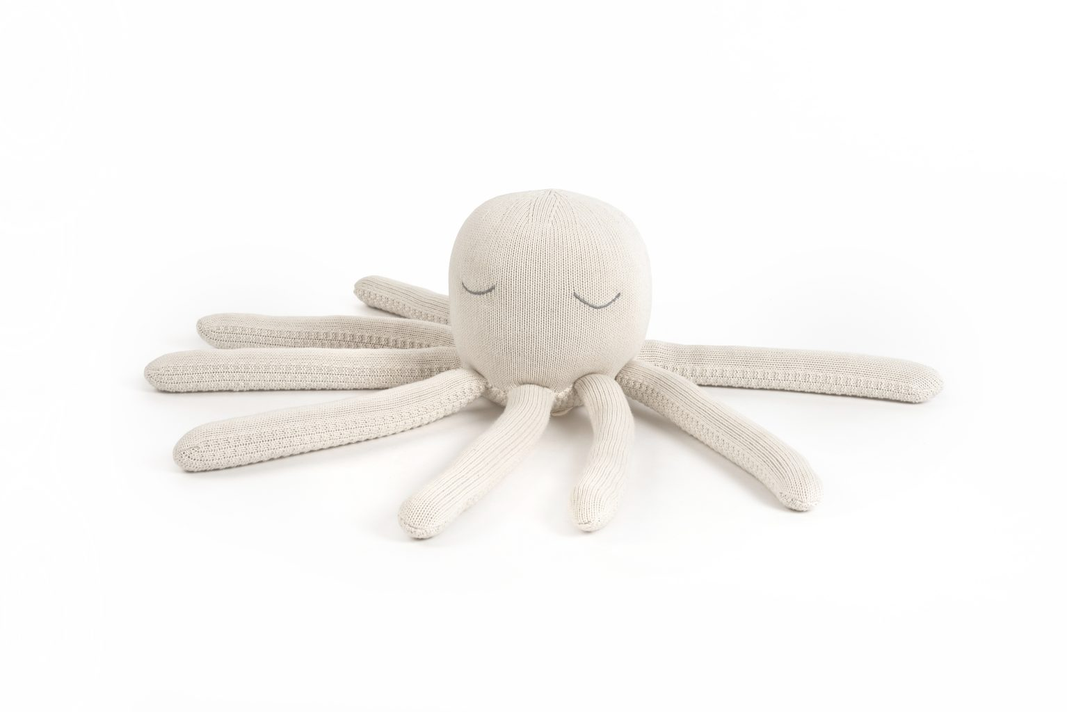 Octopus toy, Cream
