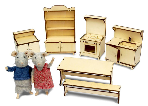 The Mouse Mansion - Kitchen Furniture Kit