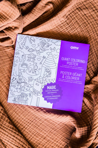 Giant Coloring Poster - Magic