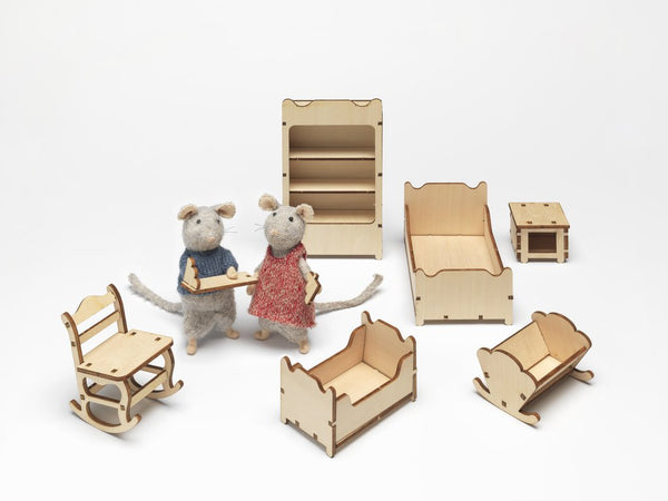The Mouse Mansion - Kids' Bedroom Furniture Kit