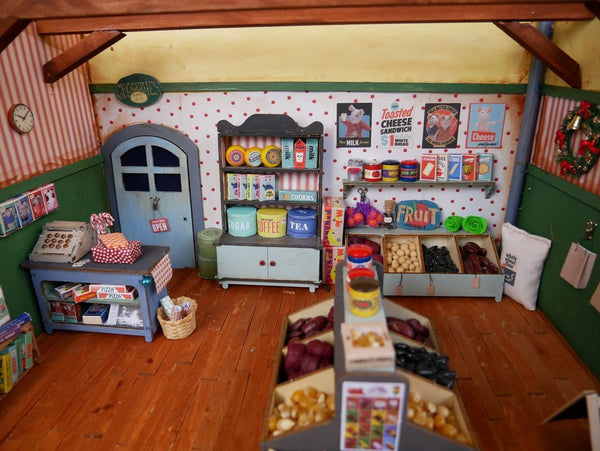 The Mouse Mansion - Shop Interior Furniture Kit