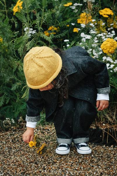 Yellow Wool Hat