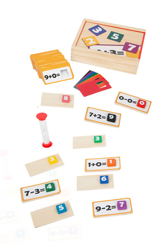Mathematics Wooden Puzzle Learning Game