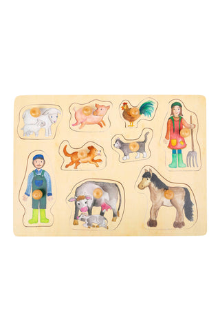 Farm and Country Life Puzzle