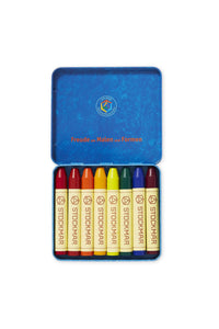 Stockmar Wax Crayons - 8 colours standard assortment