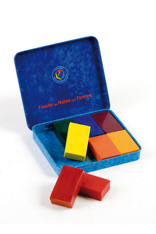 Stockmar Wax Blocks - 8 colours Waldorf assortment