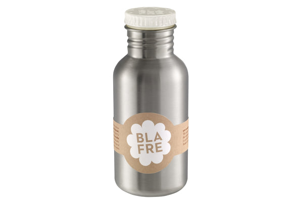 Blafre Steel Bottle 500ml, White