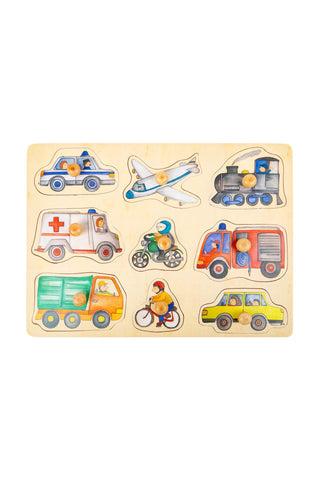 City Vehicles Puzzle