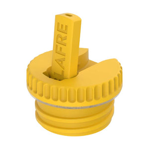 Blafre Straw Cap for Steel Bottle, Yellow