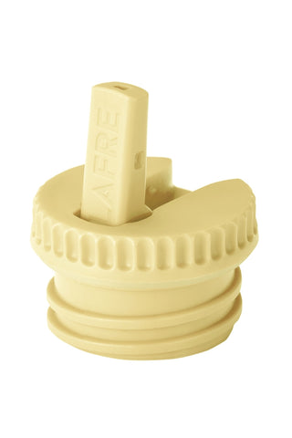Blafre Straw Cap for Steel Bottle, Light Yellow