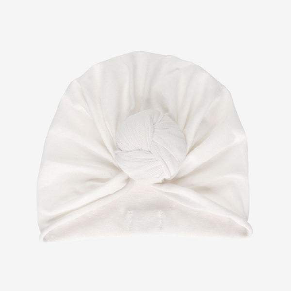 Turban Beanie, Whipped Cream