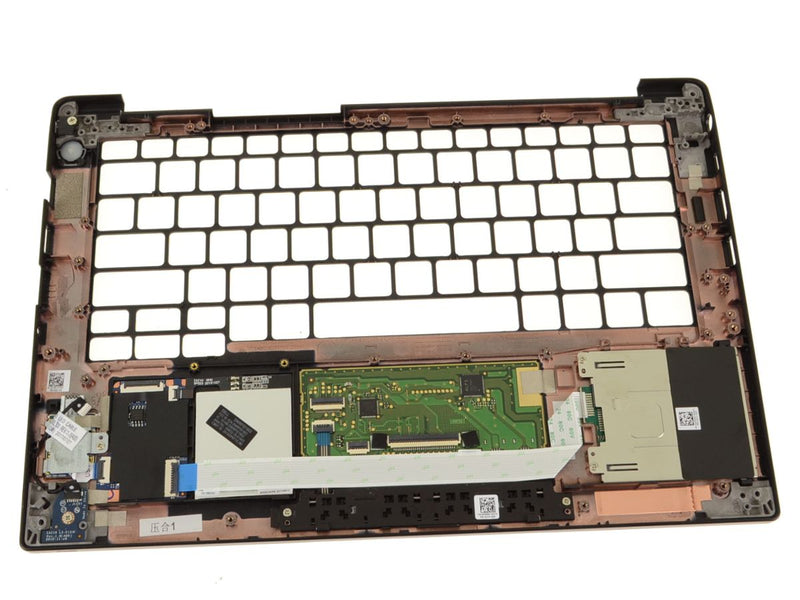Dell OEM Latitude 7280 / 7380 Palmrest Touchpad Assembly with Fingerprint Reader - 01C55