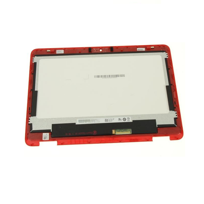 "For Dell OEM Inspiron 11 (3168 / 3169) 11.6"" TouchScreen LCD Display Assembly - Red - 0NDYN"