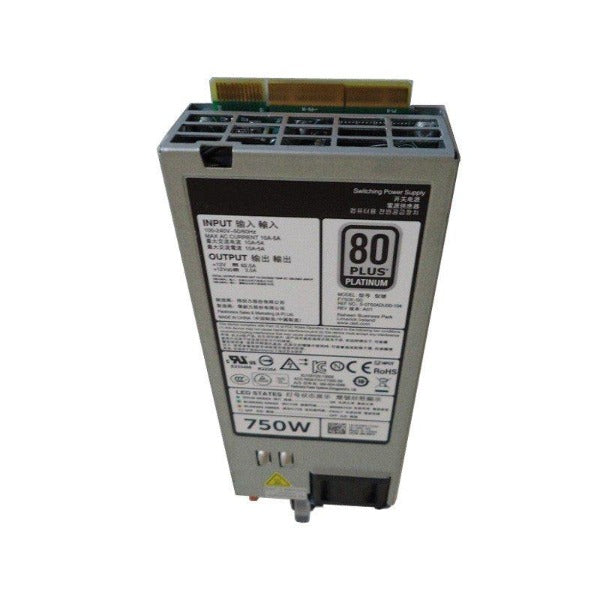 N30P9 DELL POWEREDGE 750W POWER SUPPLY FOR R820//R720//R620//R520//T420//T320
