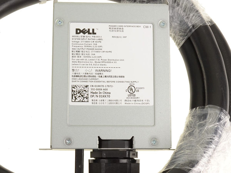 For Dell OEM Power Distribution Unit Interface Box with L22-30P Cord- 1KK70