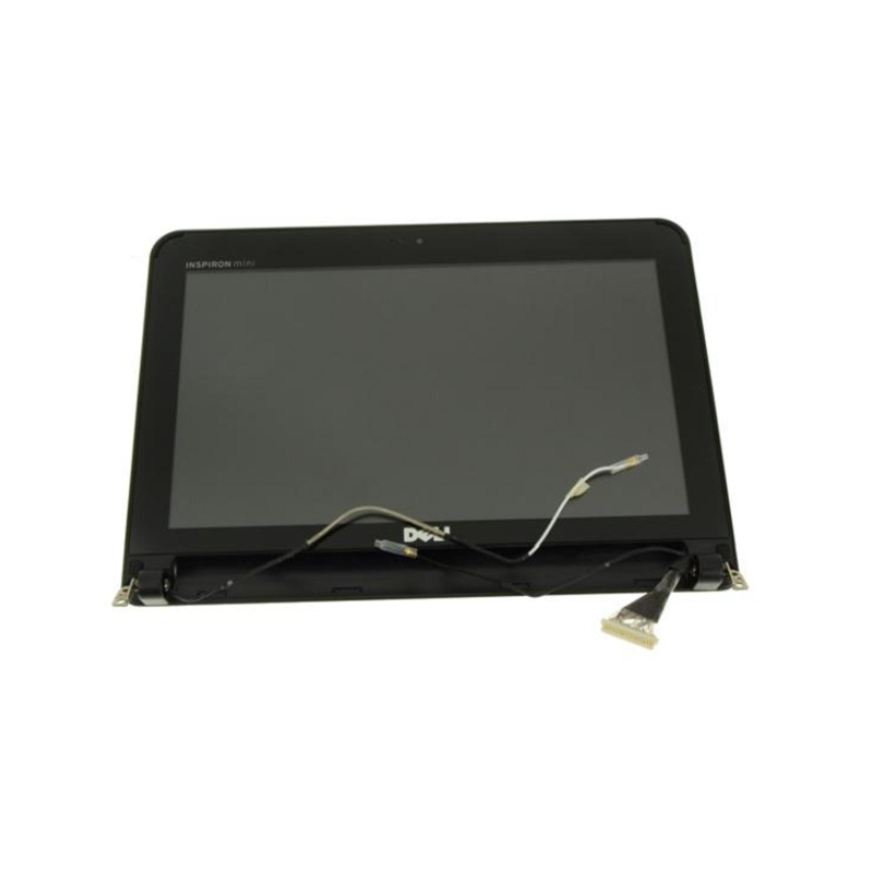 "New Black - Dell OEM Inspiron Mini 10 (1010) 10.1"" Complete LCD Screen Panel Assembly WLAN - 1PNXN"