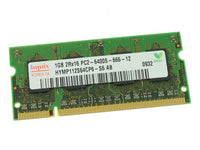 Dell OEM DDR2 800Mhz 1GB PC6400 Sodimm Laptop RAM Memory Stick - Pull w/ 1 Year Warranty