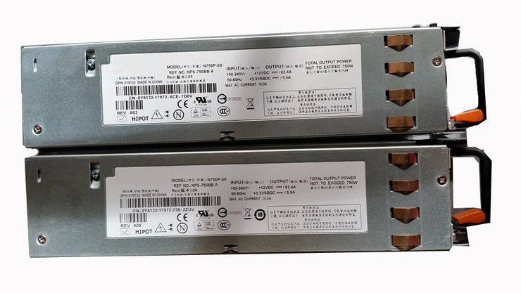 Dell PowerEdge 2950 750 750W Power Supply 0Y8132 N750P-S0
