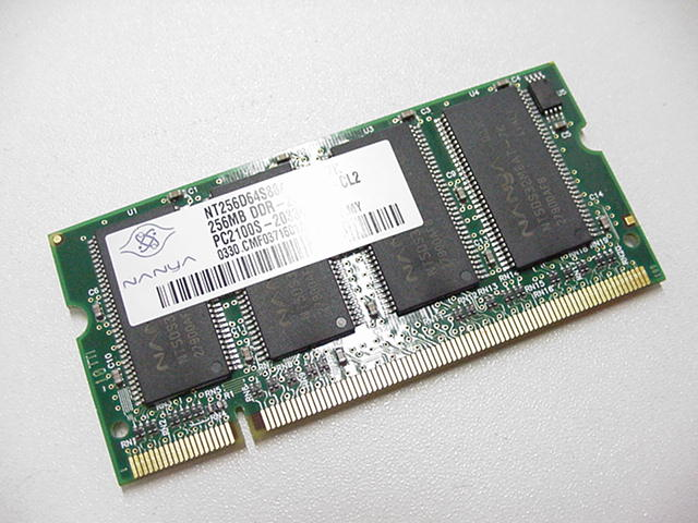 Dell OEM 256MB DDR266 PC2100 Sodimm Laptop RAM Memory Stick- PULL w/ 1 Year Warranty