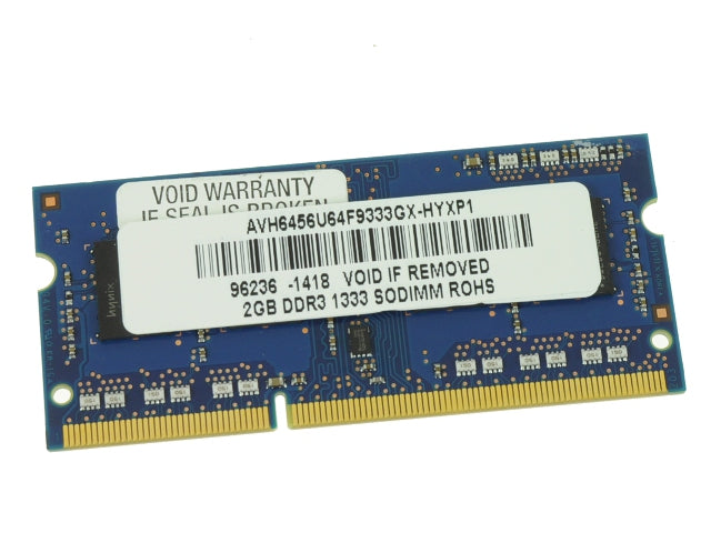 For Dell OEM DDR3 2GB 1333Mhz PC3-10600 Sodimm Laptop RAM Memory Stick - Working Pull w/ 1 Year Warranty