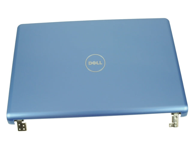 "BLUE - For Dell OEM Inspiron 1564 15.6"" LCD Back Cover Lid Top with Hinges - 2T3CD"