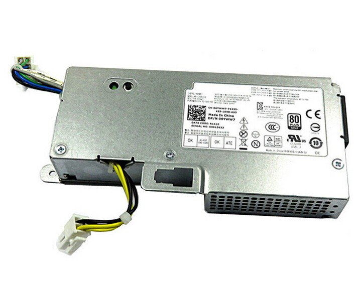 Dell Optiplex 9010 7010 780 790 990 USFF 250 Watt L200EU-01 6YWW7 06YWW7 Power Supply Unit