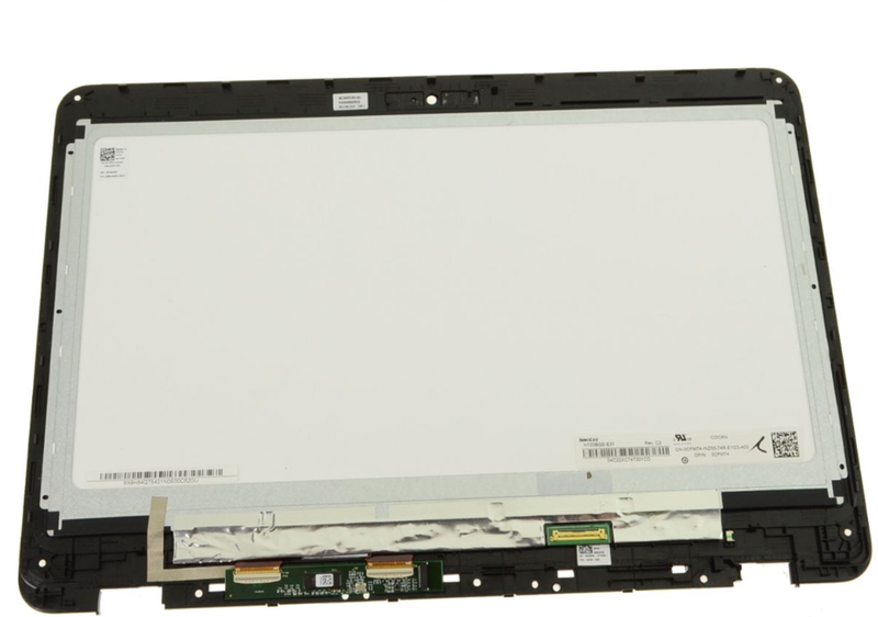 "14"" Touchscreen FHD LCD Widescreen Complete Assembly for Dell OEM Inspiron 14 (5482) 2-in-1 - Gray - 43GCF"